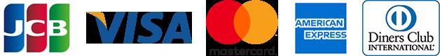 Visa・MasterCard・Diners